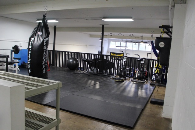 Inside of KB-ONE Martial Arts Academy